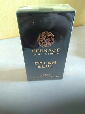 Versace Dylan Blue Pour Homme Eau de Toilette 100ml EDT Brand New Sealed