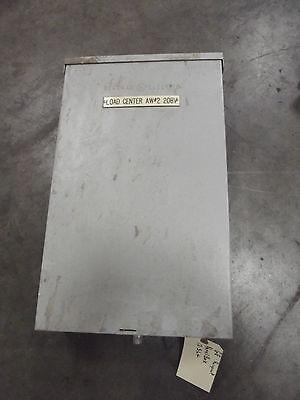 Ge Load Center Breaker Panel Box 125 Amp Max  12 Slot With Breakers  Rainproof