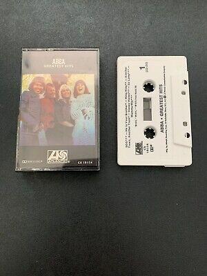 ABBA Greatest Hits Cassette 1976 Atlantic CS 19114 SOS Mamma Mia Waterloo DISCO