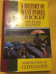 History of West Indies cricket signed