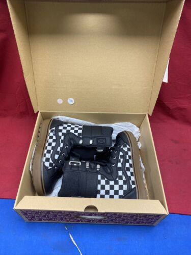 new mens hi standard ll dx checkerboard