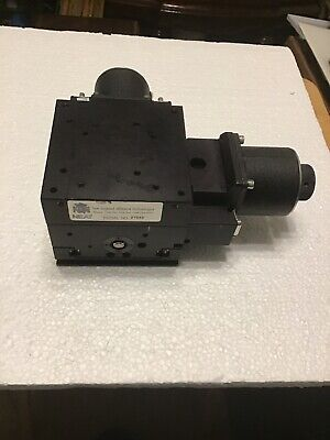 Neat Xy Stage With Motors Positioner Actuator Encoder N.e.a.t. Aerotech Newport