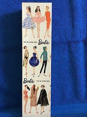 "Nice! Vintage Barbie STOCK No 850 PONYTAIL ""R"" Box For A #1, #2, #3, #4"