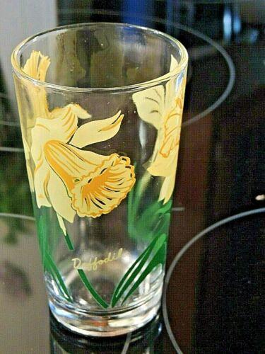 Yellow Daffodil Peanut Butter Glass Drinking Kitchen Mauzy 50-2