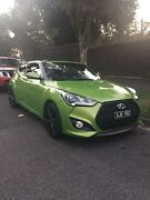 2012 Hyundai Veloster / Low Km's / Turbo Front End South Melbourne Port Phillip Preview