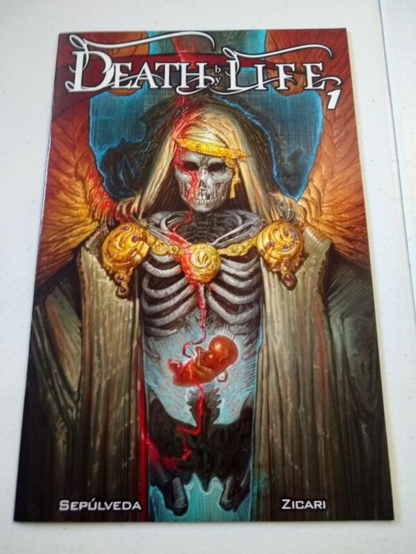 DEATH BY LIFE #1 NM Antarctic Press 2021 Sepulveda