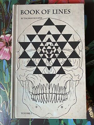 Tattoo Flash BOOK OF LINES THOMAS HOOPER Mandala Geometric Linework