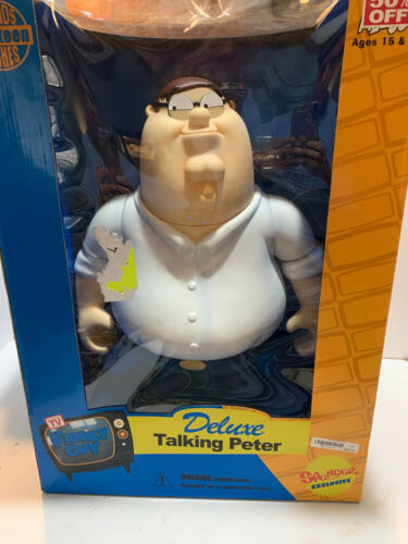 18 In Tall Talking Deluxe Family Guy Peter New