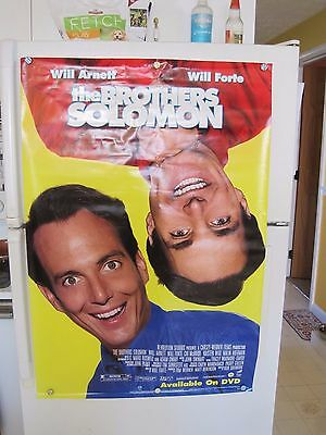 Movie Poster~BROTHERS SOLOMON~ 27 x 40 WILL ARNETT & WILL FORTE