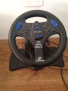 PS2 steering wheel Butler Wanneroo Area Preview