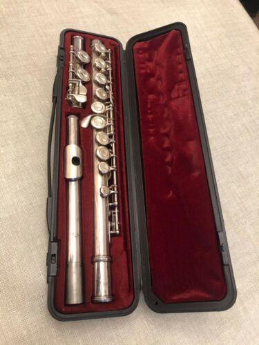 Yamaha Japan 225S Flute with case