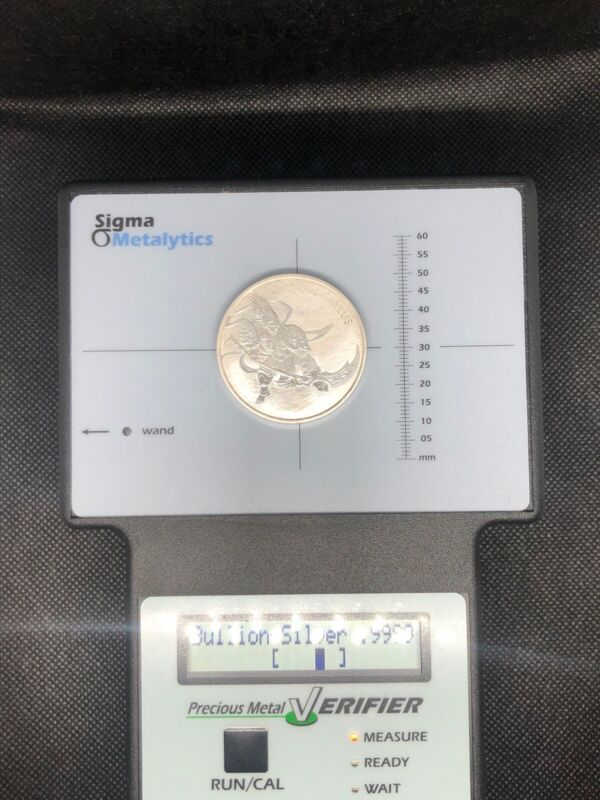 2017 South Korea 1 oz Silver ZI:SIN Gallus Twelve Guardians Coin (BU)