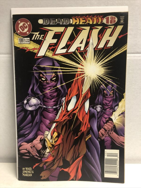 Flash # 108 1st Appearance of Savitar, DC 1995