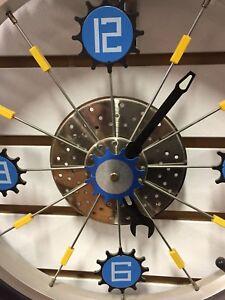 MAPLES BIKE WALL CLOCK