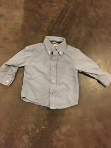 Boys 12 month button up shirt and sweater