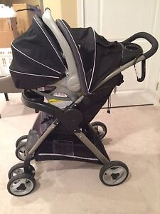 Travel system, stroller  and car seat