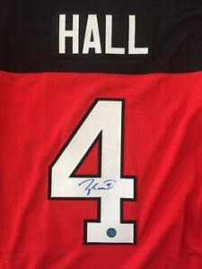 Signed Taylor Hall Team Canada Jersey