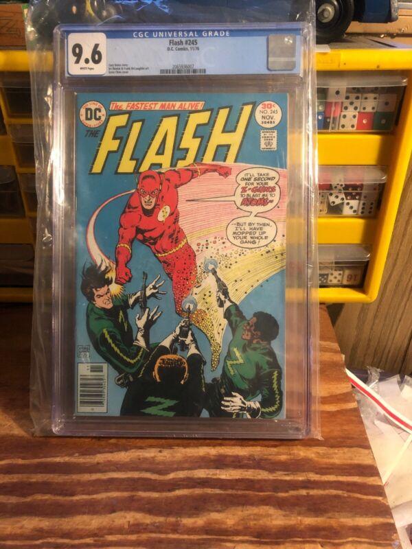 Flash #245 CGC 9.6  1st app. FLORONIC MAN