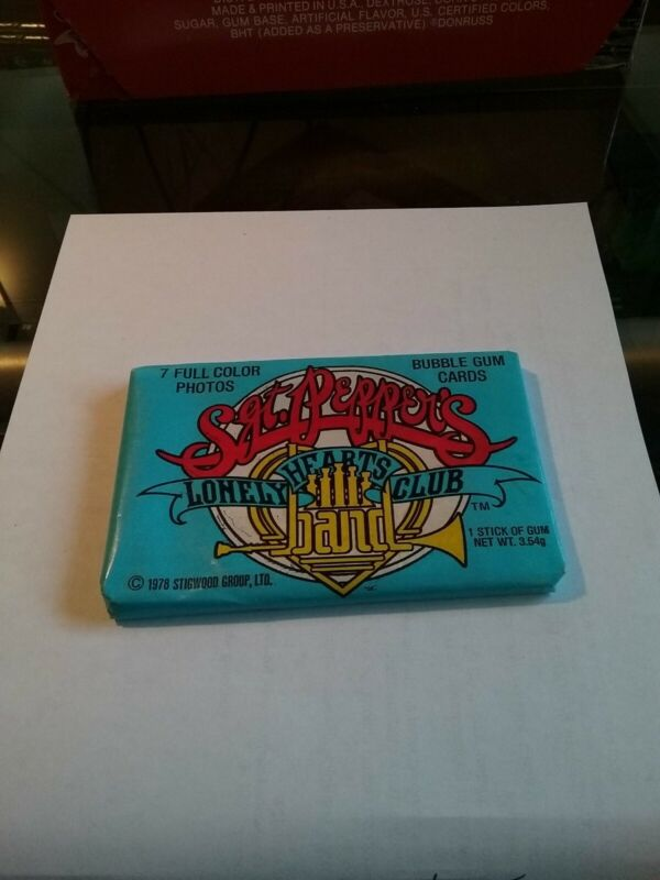 Vintage Beatles, SGT PEPPERS LONELY HEARTS CLUB BAND MOVIE CARDS..MINT..SEALED