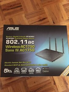 Asus RT-AC66U Wireless-AC1750 Gigabit Router