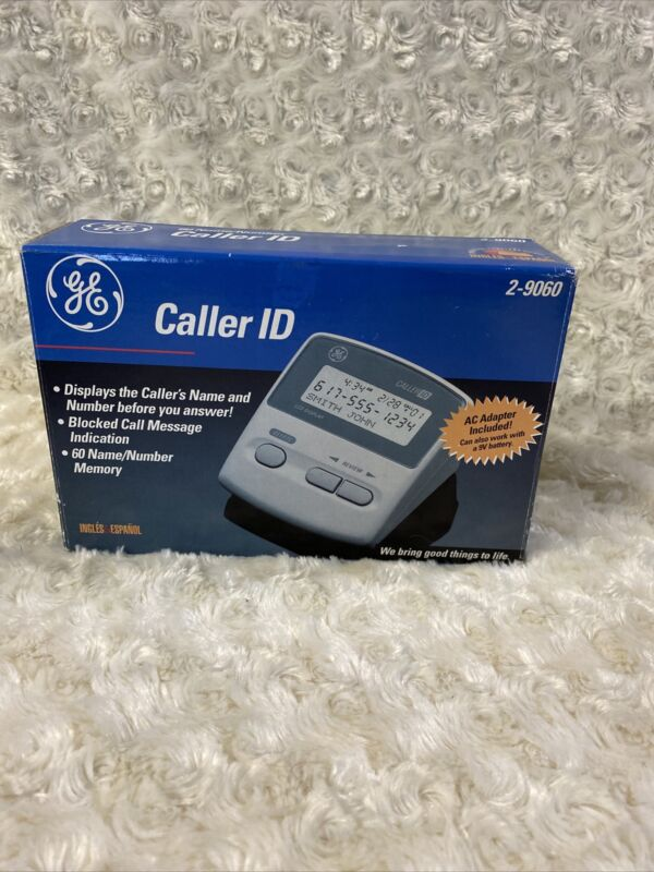 Vintage General Electric Caller ID - Model 2-9060 - Complete,Open Box Bin Z8