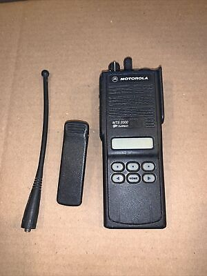 Motorola Mts2000 Flashport 2 Way Radio H01ucf6pw1bn