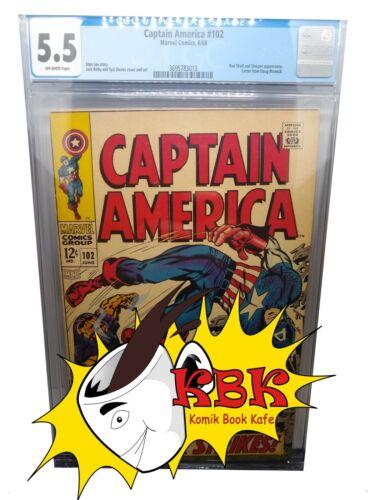 Captain America 102 CGC 5.5