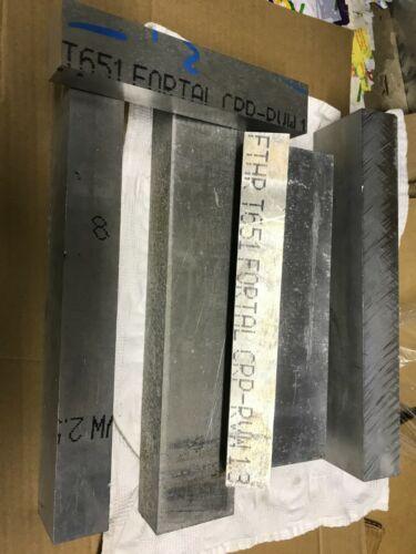Aluminum Plate Fortal  20 Pounds 7075 T651  Scrap hobby   assortment