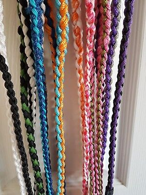 DOG SHOW  SLIP LEAD - BRAIDED STRONG TRAINING Various Colour Best Price on