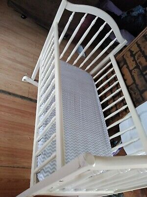 White Swinging Bassinet