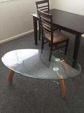 Glass coffee table (oval shape) Liverpool Liverpool Area Preview