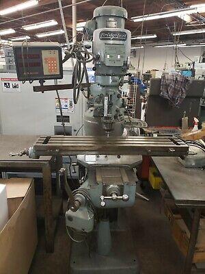 Used Bridgeport Mill Series 1 Manual Cnc Machining