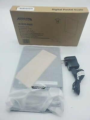 Accuteck 86 Lbs Digital Postal Scale Shipping Electronic Scales Usps New