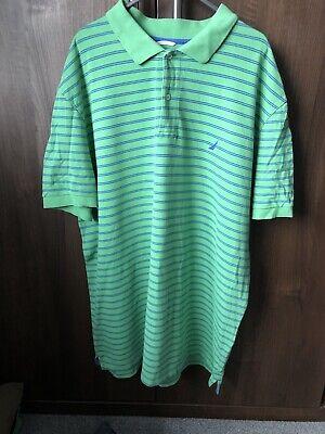 nautica Golf polo shirt Xxl Green/Blue
