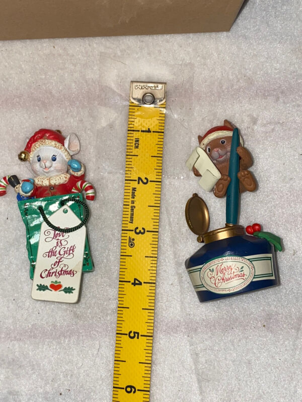 Traditions Collection Christmas Ornaments Mouse Ink Pen Mouse In Gift Bag