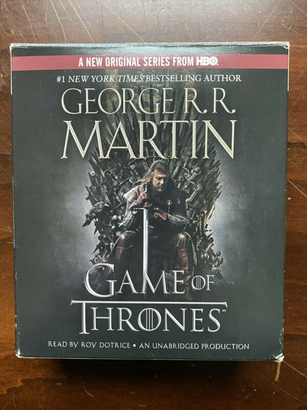Game of Thrones George R.R. Martin Complete Audiobook 28 CD Set Unabridged 33HRS