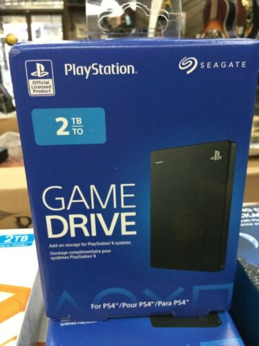 Seagate PS4 Game Drive 2 TB External (STGD2000100) Hard Drive Brand New Sealed