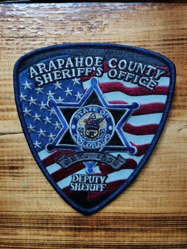 PATCH POLICE SHERIFF APAPAHOE COUNTY COLORADO