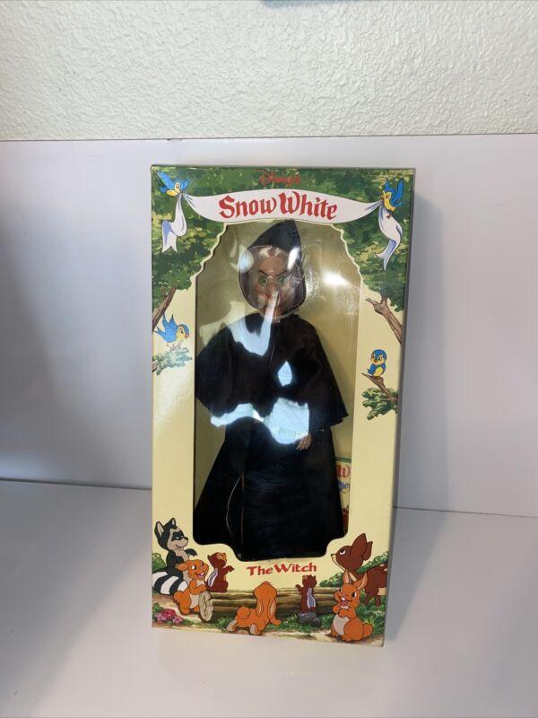 "Vintage BIKIN Disney Snow White And The Seven Dwarfs The Witch 11.5"" Doll Rare!"