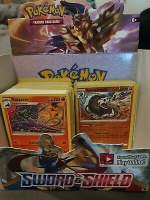 50 Sword and Shield Pokemon Trading Card Bundle