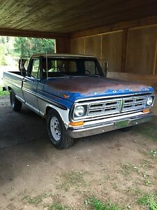 72 ford f250 factory ac