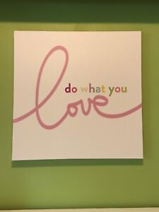 """do what you love"" Canvas Print"