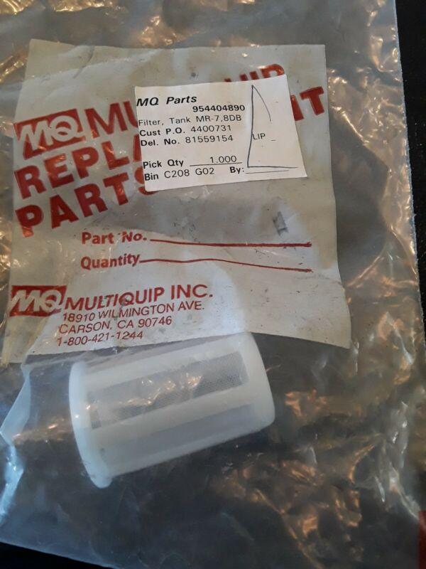 Multiquip 954404890 Tank Filter New