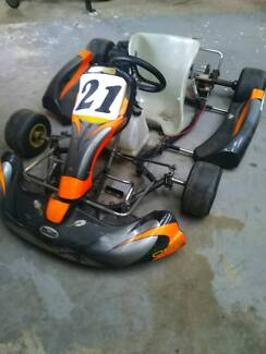 Go kart with yamaha 100s engine. Electric start. Mill Park Whittlesea Area Preview