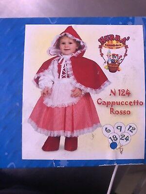 costume carnevale donna Cappuccetto Rosso