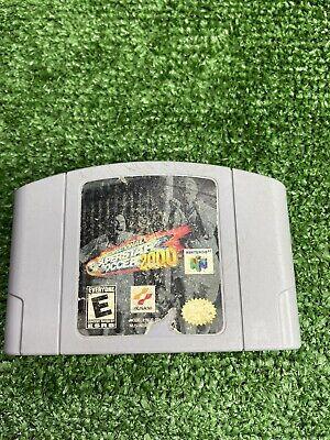 International Superstar Soccer 2000 (Nintendo 64, 2000) Tested Authentic N64