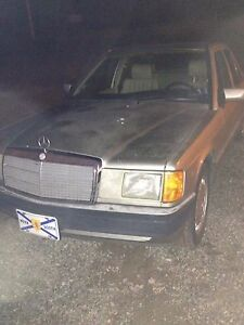 1992 Mercedes 190 E Class *PARTS CAR*