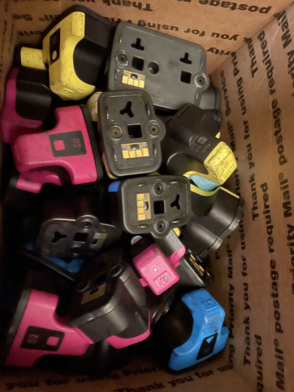 Lot of 160 Empty / Used Ink Cartridges for Staples Rewards ($320 Value)