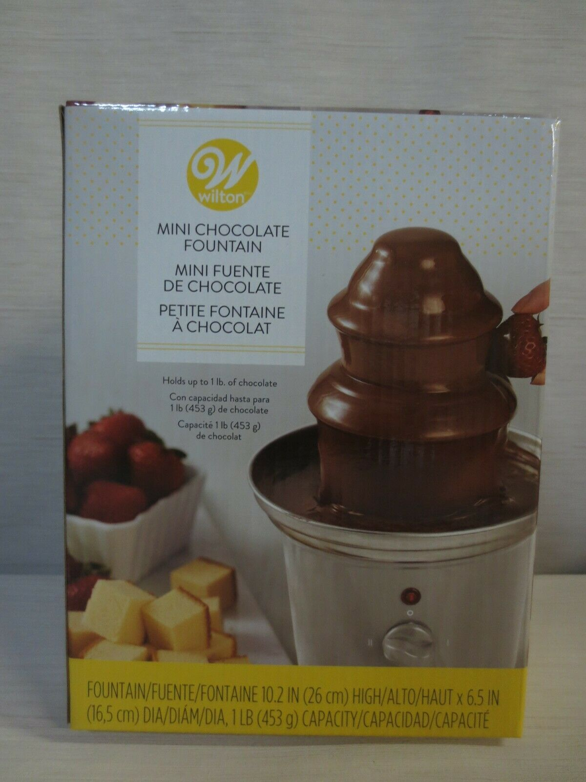 Wilton Mini Chocolate Fountain - Chocolate Fondue Fountain