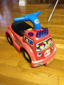 Fisher price fire truck